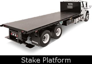 CTB Sales - Custom Northern Virginia Stake Platform Truck Body